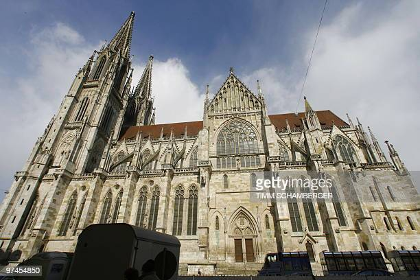 The Cathedral is pictured in the southern German city of Regensburg on March 5 2010 A renowned German Catholic boys' choir of Regensburged for three...
