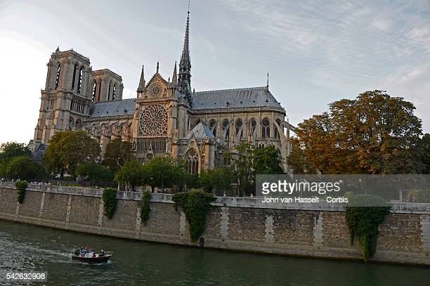 The cathedral NotreDame de Paris celebrates its 850 years of history this year The foundation stone was laid in 1163 by Pope Alexander III With the...