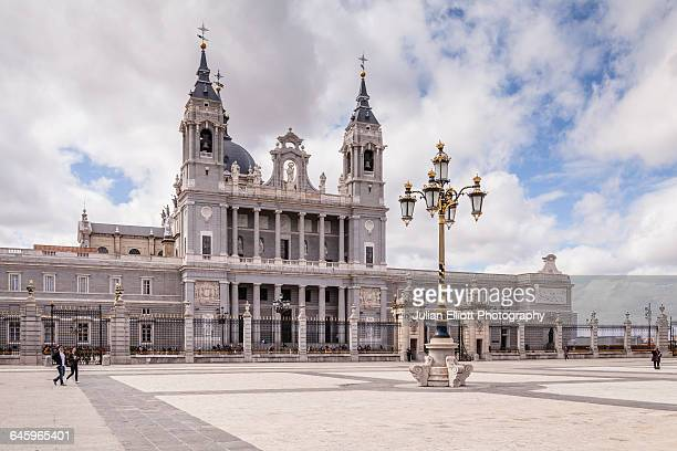 The cathedral of Madrid, Spain.