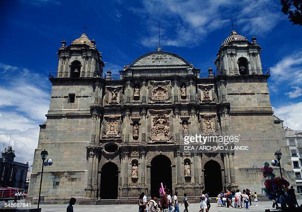 The Cathedral of Our Lady of the Assumption Oaxaca de Juarez Oaxaca Mexico 16th18th century