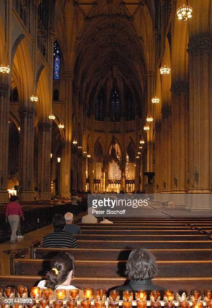 The Cathedral of Saint Patrick New York USA Vereinigte Staaten von Amerika Kathedrale Kirche Kerzen Reise BB DIG PNr 1598/2007