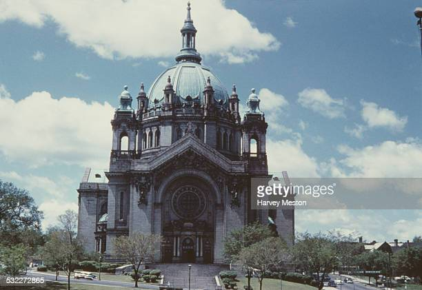 The Cathedral of Saint Paul Saint Paul Minnesota USA circa 1960