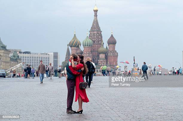 The Cathedral of St Basil the Blessed remains one of the most striking landmarks of Moscow