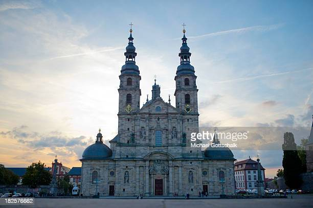 The Cathedral of St Salvator of the Holy Sepulchre Church of St Boniface on September 26 2013 in Fulda Germany
