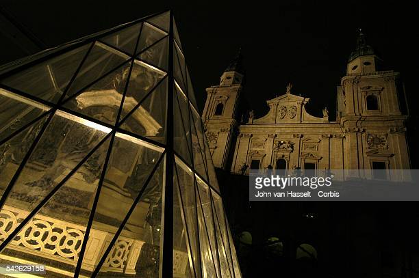 The cathedral on Domplatz is a sacred domain for the Mozarts Wolfgang composed a majority of his religious music for the Cathedral including the...