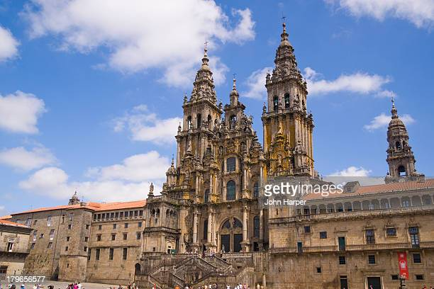 The Cathedral, Santiago de Compostela, Galicia.