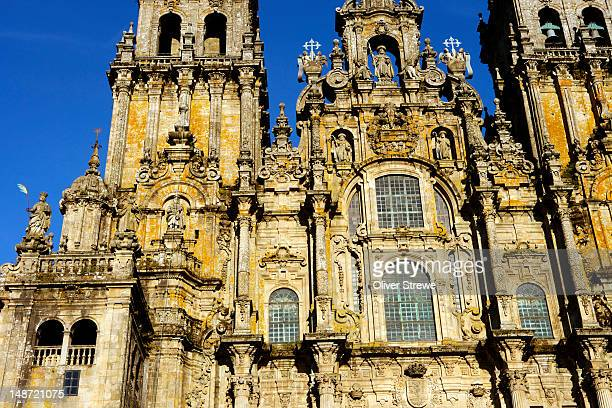 The Cathedral Santiago De Compostela.