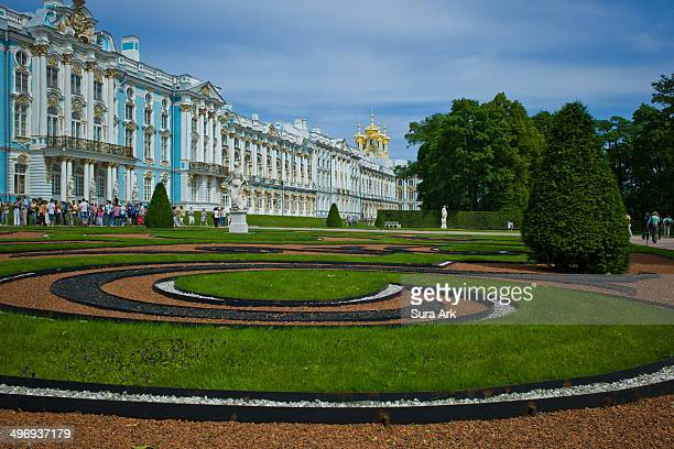 CONTENT] The Catherine Palace is named after Catherine I