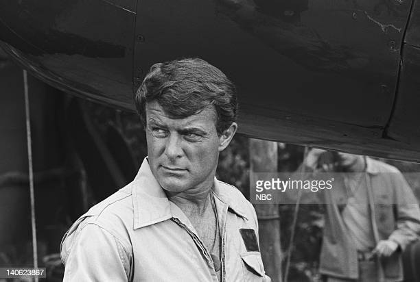 SHEEP The Cat's Whiskers Episode 12 Aired 12/7/76 Pictured Robert Conrad as Maj Greg 'Pappy' Boyington Photo by NBCU Photo Bank