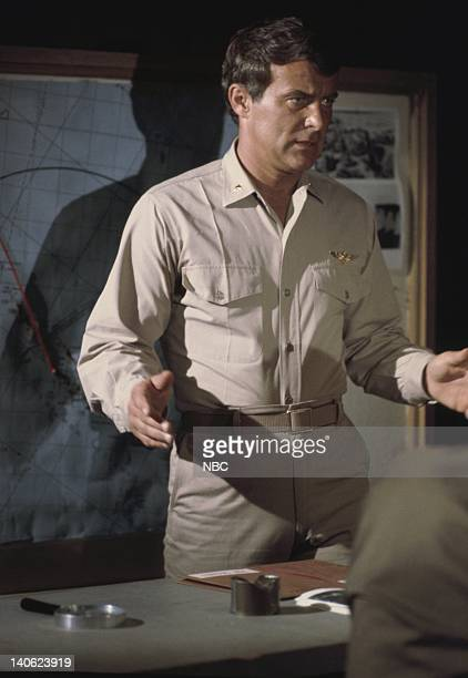 SHEEP The Cat's Whiskers Episode 12 Aired 12/7/76 Pictured Robert Conrad as Maj Greg 'Pappy' Boyington Photo by Nese/NBCU Photo Bank