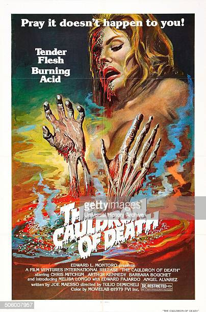 The Cauldron of Death a 1973 SpanishItalian production starring American actor Christopher Mitchum