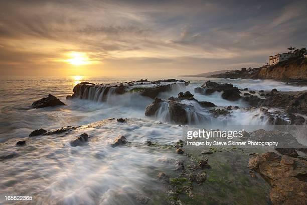 the cauldron - victoria beach - laguna beach california stock pictures, royalty-free photos & images