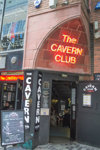The Cavern Club with people walking downstairs