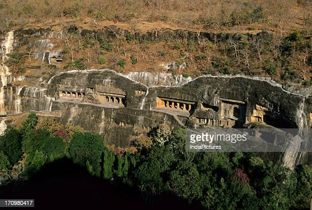 The caves of Ajanta and Ellora India