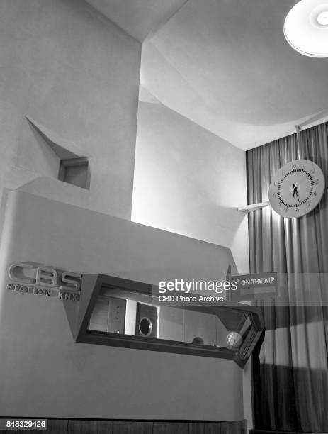 The CBS Columbia Square KNX Radio Studios an art deco style building on Sunset Boulevard Hollywood California Image dated April 1 1938