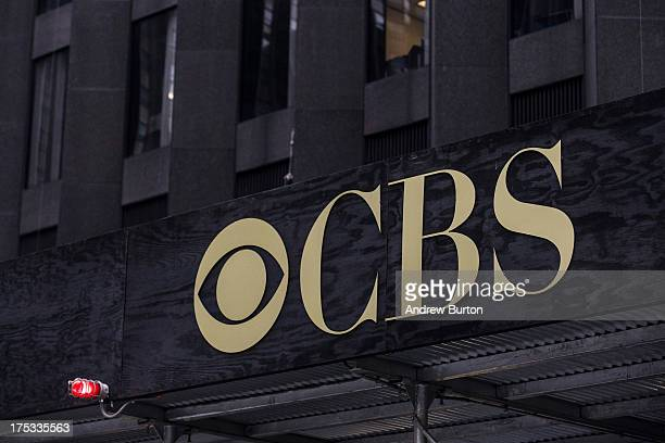 The CBS headquarters seen on August 2, 2013 in New York City. Time Warner Cable dropped CBS in three major markets- New York, Los Angeles and Dallas...