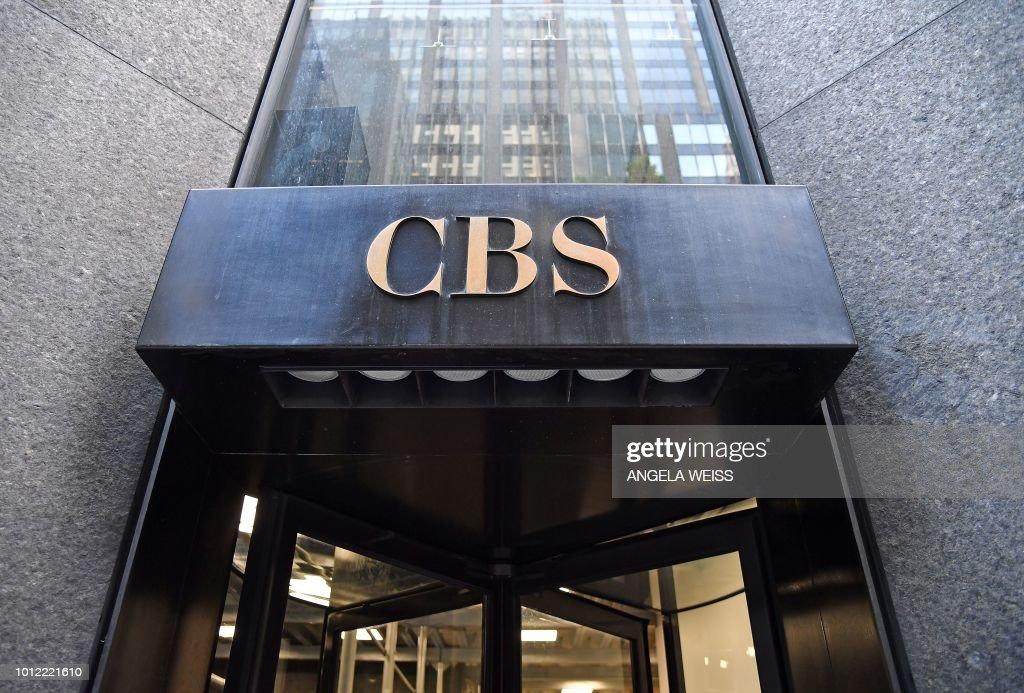 US-MEDIA-TELEVISION-CBS : Fotografía de noticias
