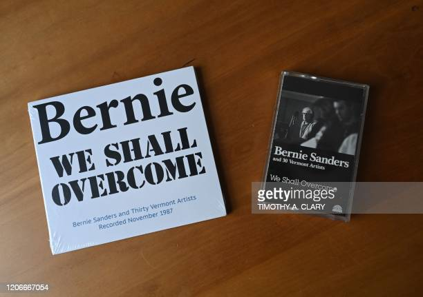 The CD and cassette tapes of Bernie We Shall Overcome produced by Todd Lockwood and recorded in 1987 with 30 Vermont musicians and singers backing...