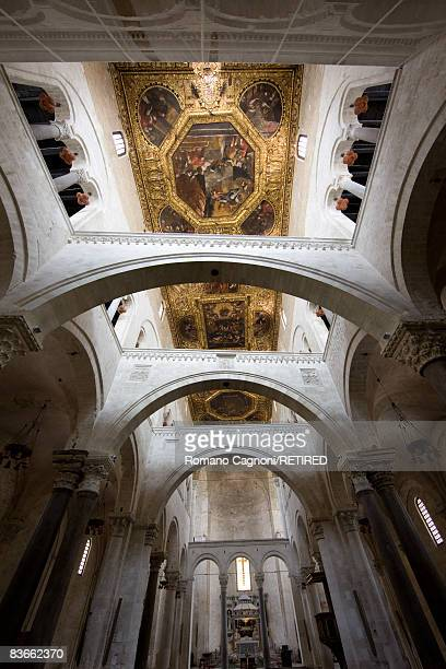 The ceiling of the Basilica di San Nicola in Bari Apulia circa 2008