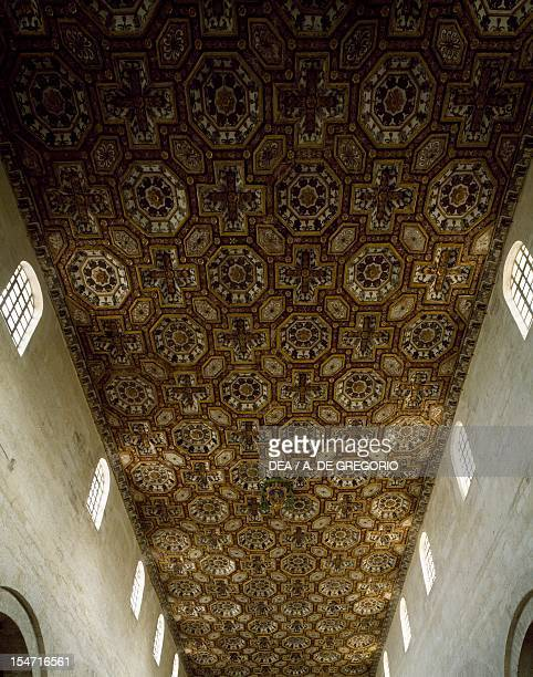 The ceiling of the Cathedral of the Annunziata Otranto Apulia Italy 15th century