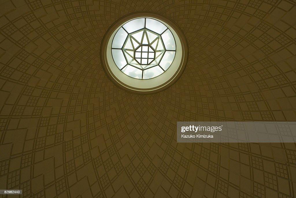The ceiling of the museum   : ストックフォト