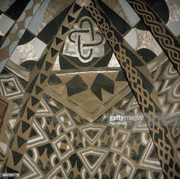 The ceiling of the Receiving Room of the Palace of the Emir of Kano