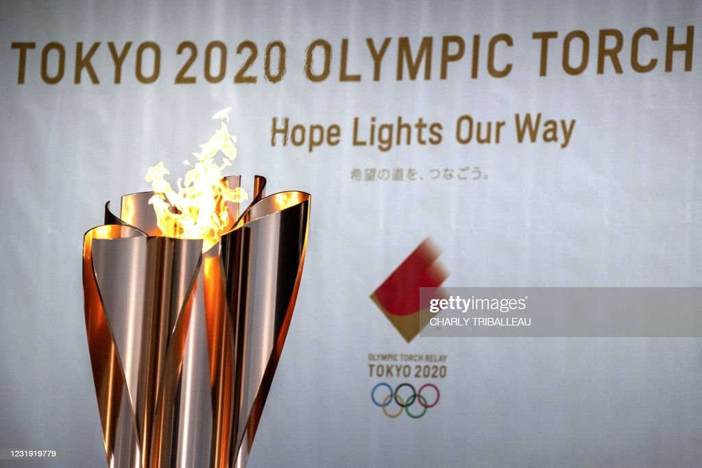 OLY-TOKYO-2020-2021-TORCH-RELAY : Foto di attualità