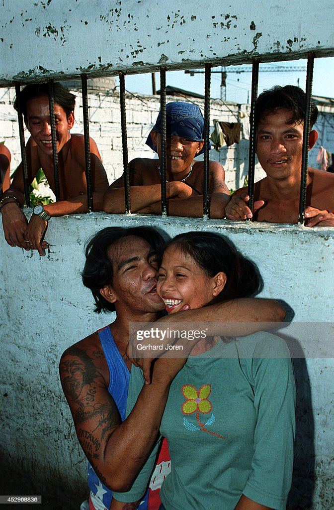 The Cell Block For Batang City Jail One Of Four Gangs In The Manila