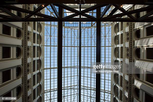 The celling at the grand opening ceremony of the Trump International Hotel Old Post Office in Washington DC on Wednesday October 26 2016