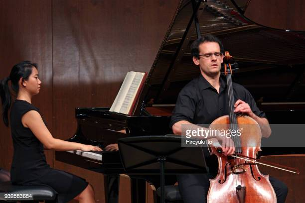 The cellist Warren Hagerty and the pianist Rosa Li performing Cesar Franck's sonata at the Juilliard School's Paul Hall on Wednesday night November...