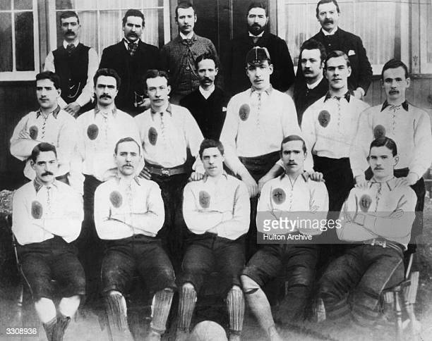 The Celtic FC team line-up for the 1887-88 season Willie Groves, Tom Maley, Paddy Gallagher, Willie Dunning, Willie Maley, Mick Dunbar, Johnny...