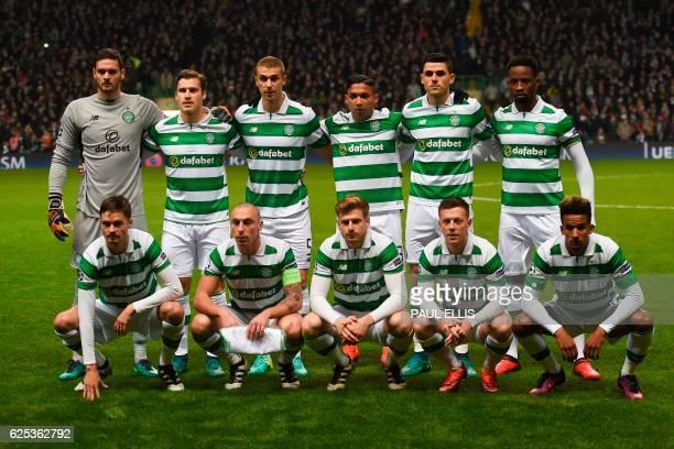 The Celtic starting XI Celtic's Scottish goalkeeper Craig Gordon Celtic's Danish defender Erik Sviatchenko Celtic's Croatian defender Jozo Simunovic...