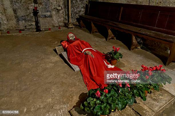 The cemetery of the Sacconi Rossi the brotherhood of the devouts of Jesus crucifix at Calvario and of Our Lady of Sorrows founded in the seventeenth...