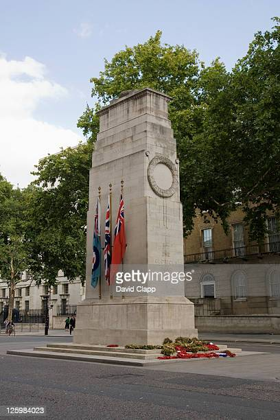 the cenotaph war memorial, london, uk - cenotaph london stock pictures, royalty-free photos & images