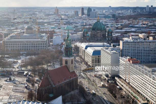 The center of Berlin from above