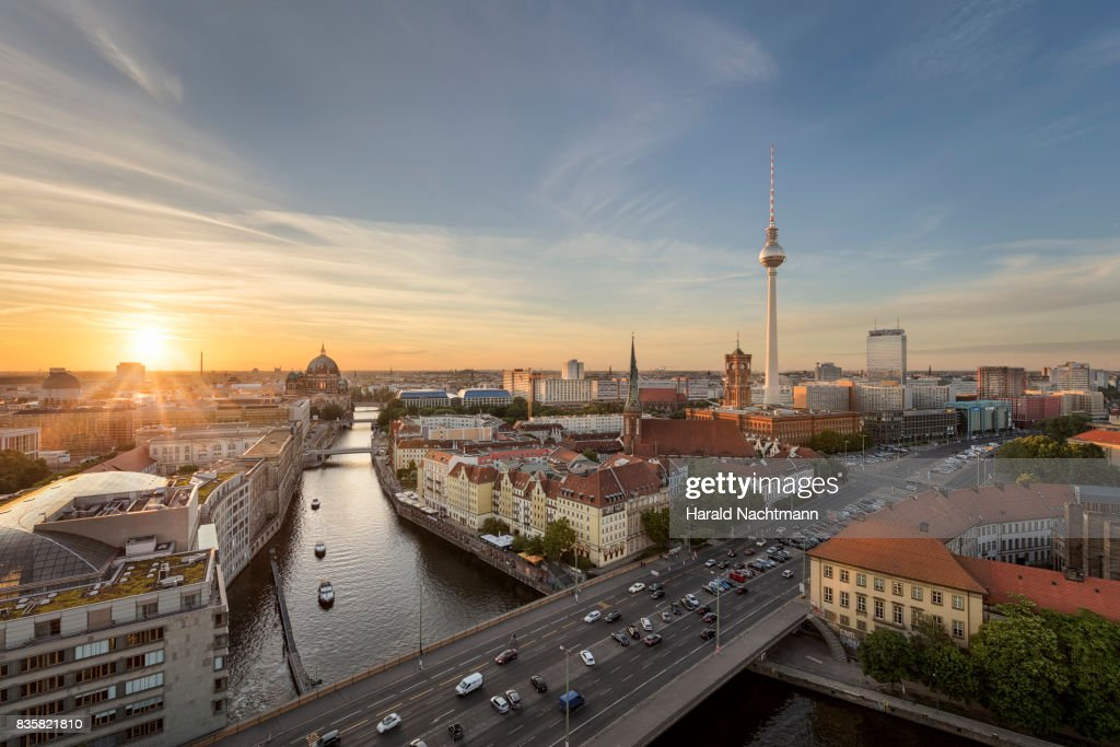 The center of Berlin : Stock Photo