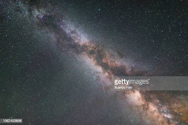 the center of milky way, galaxy, night sky - space and astronomy stock pictures, royalty-free photos & images