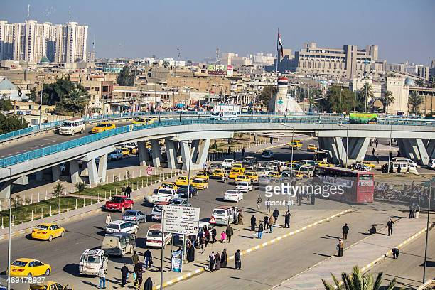 The center of the city of Baghdad Alawi area .. Photography Rasoul Ali