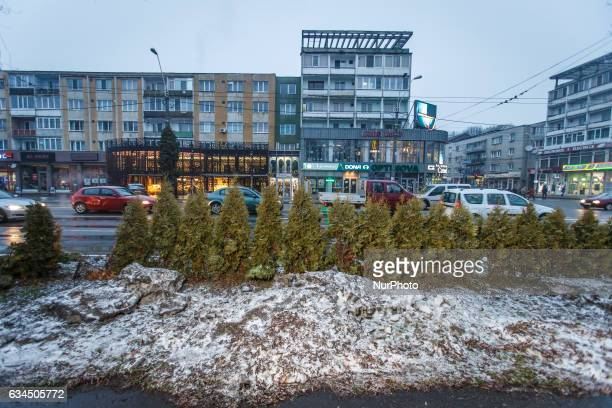 The center of the city of Baia Mare the capital of the mountainous Maramures region is seen on 9 February 2017 Baia Mare came to be known after its...