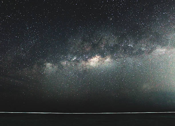 The center of The Milky Way over the Indian Ocean.