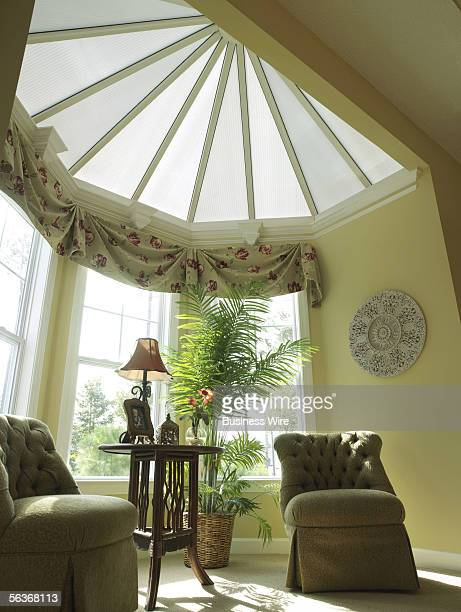 The Centerpoint patentpending roofing structure is designed to allow penetration of natural filtered daylight into living areas without the energy...