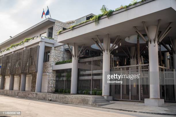 The Central Bank of Haiti known as the Bank of the Republic of Haiti stands in PortauPrince Haiti on Sunday June 2 2019 The turbulence wracking the...
