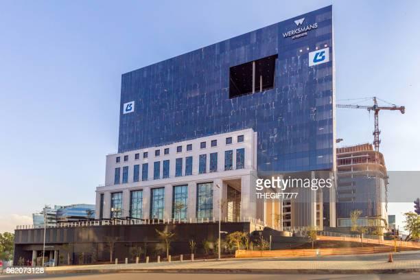 Das Hauptgebäude in Sandton, Johannesburg