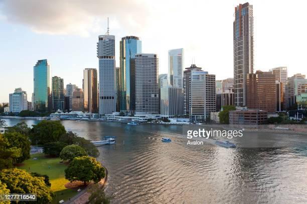 The Central Business District of Brisbane. Queensland. Australia.