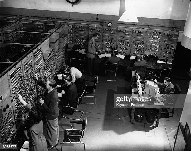 The Central Control Room in Broadcasting House through which all programmes are routed