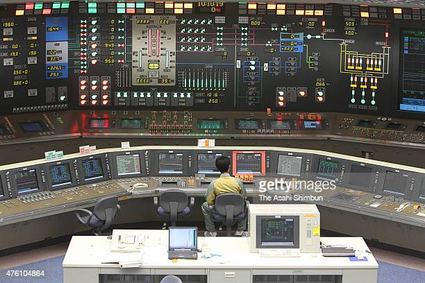 The central control room of the No 5 reactor at the Chubu Electric Power Co's Hamaoka Nuclear Power Plant on May 26 2011 in Omaezaki Shizuoka Japan