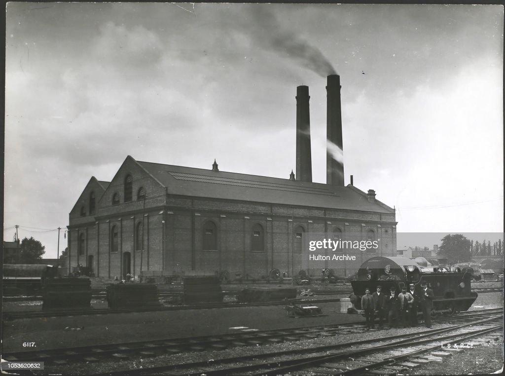 Central London Railway Generating Station : News Photo