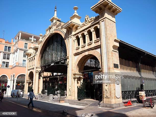 The Central Market in Zaragoza: