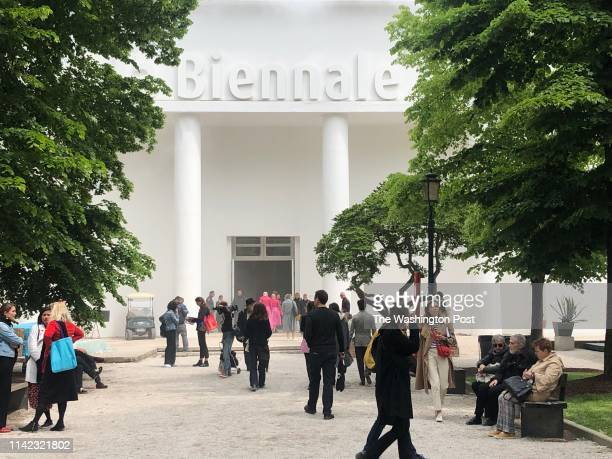 The Central Pavilion of Venice Biennale already gathers a crowd before the official opening of the biannual event, the premiere gathering of the...