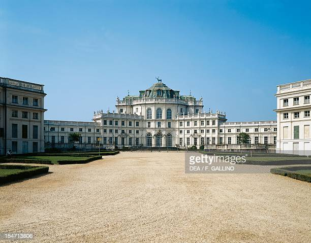 The central pavilion Stupinigi's Little Hunting Palace by the architect Filippo Juvarra Italy 18th century